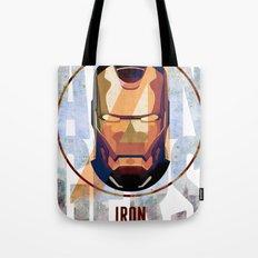 Avengers : IRON MAN print  Tote Bag