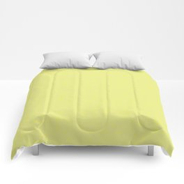 Yellow Shambolic Bubbles Comforters