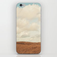 Clouds over the Field iPhone & iPod Skin