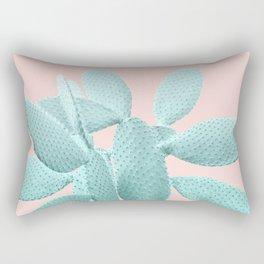 Blush Cacti Vibes #1 #plant #decor #art #society6 Rectangular Pillow