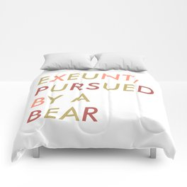 Shakespeare - The Winter's Tale - Exeunt Exit Pursued by a Bear Comforters