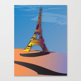 The Eiffel Canvas Print