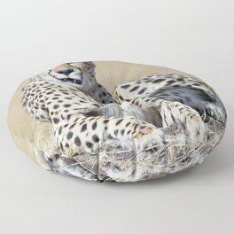 Cheetah Floor Pillow