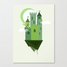 Sky Castle 2 Canvas Print