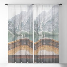 Live the Adventure Sheer Curtain