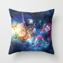 Days and Nights Throw Pillow