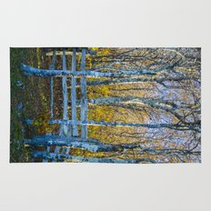 Two birches Rug