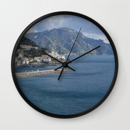 Land Opens Out Wall Clock