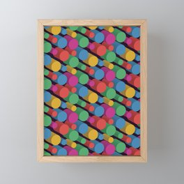 3D X Pipes II Framed Mini Art Print