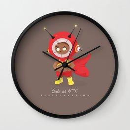 Cute as F**K Wall Clock