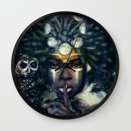Lesser Light Wall Clock