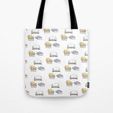 Books - Pastel Pattern Tote Bag