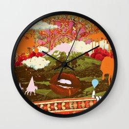 MORNING PSYCHEDELIA Wall Clock