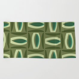 Alcedo - Green Beach Towel