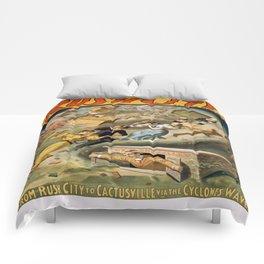 Vintage poster - Rush City Comforters