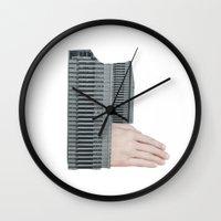 Hand Building Wall Clock