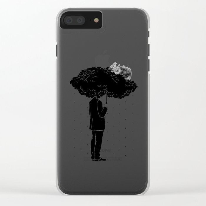 My life is a Storm Clear iPhone Case