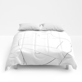 crossed arms Comforters