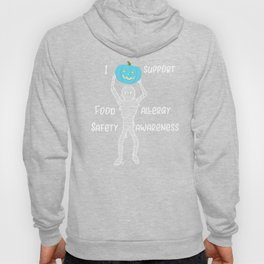 Teal Pumpkin Mummy Food Allergy I Support Food Allergy Awareness Hoody