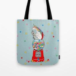 Unicorn Gumball Poop Tote Bag