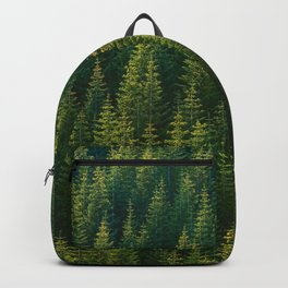 The Green Forest (Color) Backpack