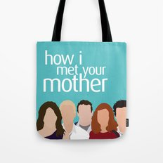 How I Met Your Mother Tote Bag