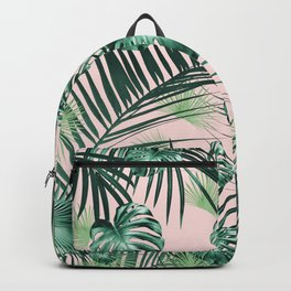 Tropical Jungle Leaves Garden #2 #tropical #decor #art #society6 Backpack