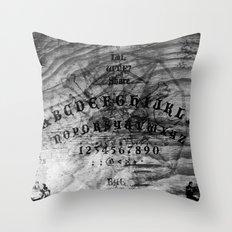 Modern Ouija Throw Pillow