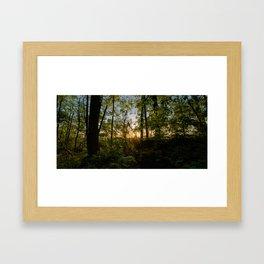 HDR Sunrise III Framed Art Print