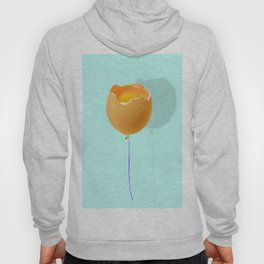 broken egg Hoody