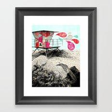SURF.SUN.FUN. Framed Art Print