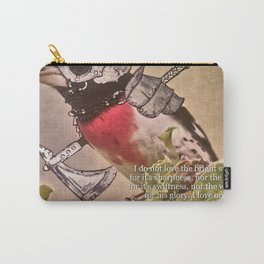 Birds In Armor 7 Carry-All Pouch