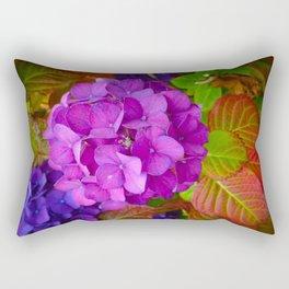 Holy Hydrangea III Rectangular Pillow
