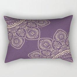 Lavender Tulips Rectangular Pillow