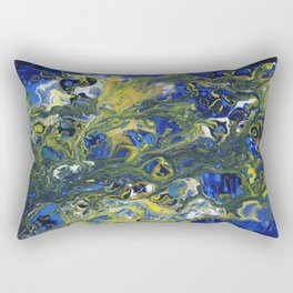 Seaweed in the Surf Rectangular Pillow