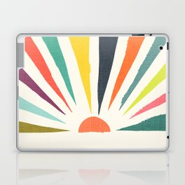 Rainbow ray Laptop & iPad Skin