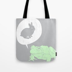 Frogs Say Tote Bag