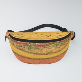 Burger with cheese Fanny Pack