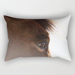 horse portrait Rectangular Pillow