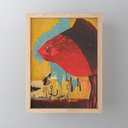 The Fish Framed Mini Art Print