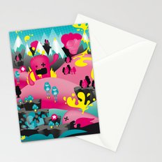 yellow event Stationery Cards