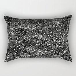 Stars Glitter Stars Rectangular Pillow