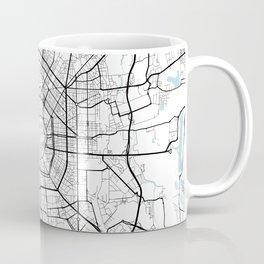 Milan City Map of Italy - Circle Coffee Mug