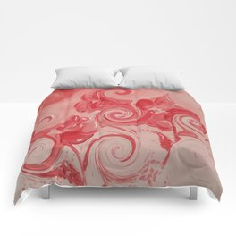 """""""Red Curl"""" Comforters"""