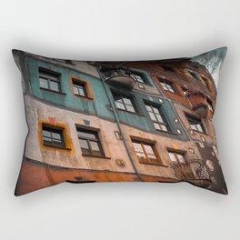 Hundertwasser museum Rectangular Pillow