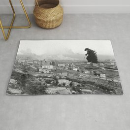Old Time Gojira Rug