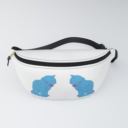 Pop Art Kitten Vibes Fanny Pack