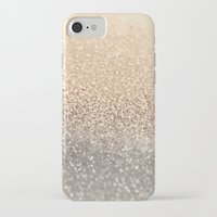 purple iPhone & iPod Cases featuring  GOLD by Monika Strigel®