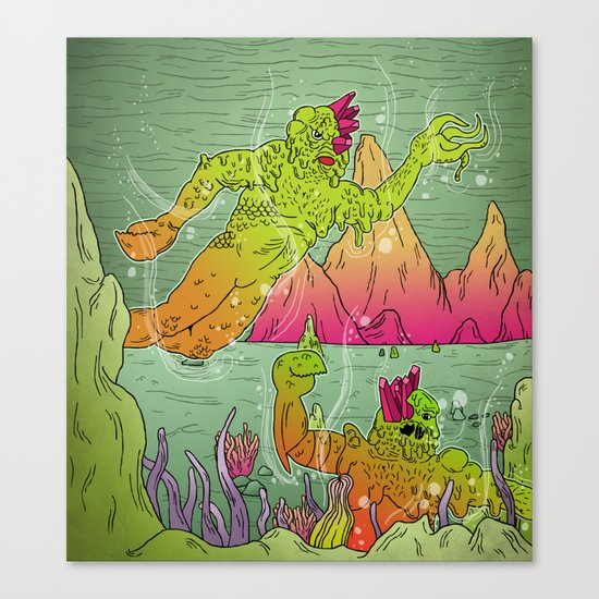Fantastic Caverns! Canvas Print