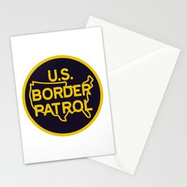 US Border Patrol Seal Stationery Cards